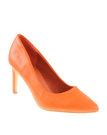 Footwork Erin Heeled Shoe Orange