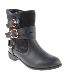 Footwork Cara Ankle Boots Blue