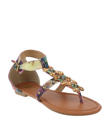 Footwork Missie Flat Sandal Pink