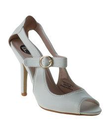 Footwork Cyndi High Heel Sandal White