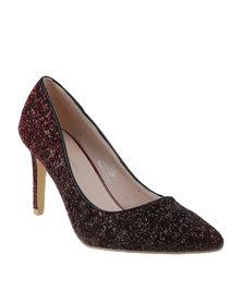Footwork Rosie High Heel Court Dark Red