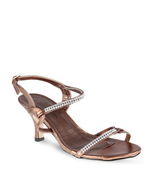 Footwork Wish Heels Bronze