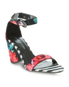 Footwork Printed Sandals Multi