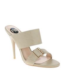 Footwork Mule Sandals Beige