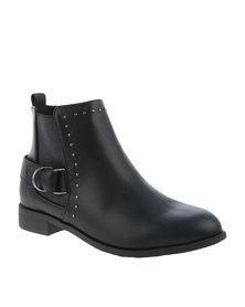 Footwork Daria Ankle Boot Black