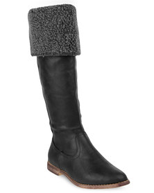 Footwork Kate Boots Black