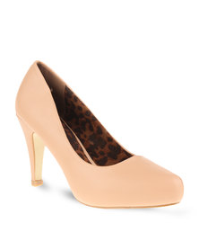 Footwork Court Heels Nude