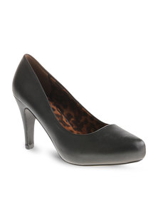 Footwork Court Heels Black