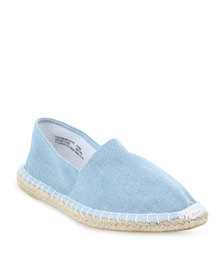 Footwork Casual Slip-On Shoes Blue