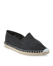 Footwork Casual Slip-On Shoes Black