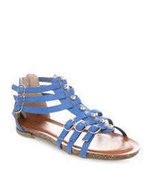Footwork Gladiator Sandals Blue