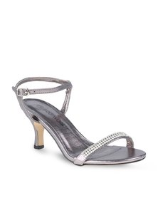 Footwork Heart Heels Pewter