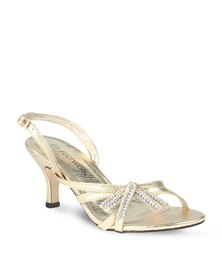 Footwork Love Heels Gold