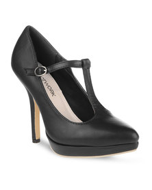 Footwork Jane Heels Black
