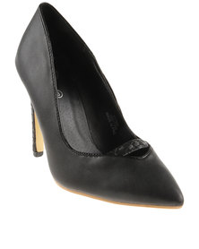 Footwork Natalia Heeled Shoes Black