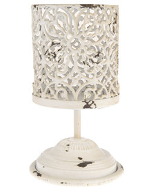 Forever Decor Table Stand Candle Holder White