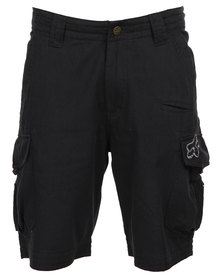 Fox Slambozo Solid Walk Shorts Black