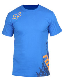 Fox Given SS Tee Blue