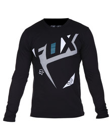Fox Sprinter LS Tee Black