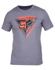 Fox Iver SS Tee Grey