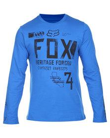 Fox Filibuster LS Tee Blue