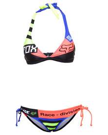 Fox Intake Fixed Halter Bikini Multi