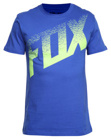Fox Dirt Alert SS Tee Blue