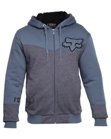 Fox Mogul Sherpa Sweater Grey