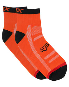 Fox Performance 4 inch Trail Socks Orange