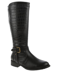 Franco Gemelli Balletl Knee High Boot Black