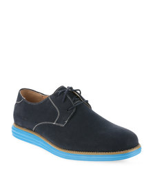 Franco Gemelli Cobin Lace Up Shoes Navy