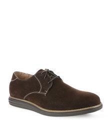 Franco Gemelli Cobin Lace Up Shoes Brown