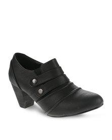 Franco Gemelli Paris Boots Black