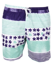 Franks Stars & Stripes Medium Boardshorts Multi