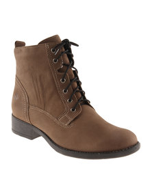 Froggie Gasper Leather Ankle Boot Brown