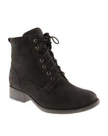 Froggie Gasper Leather Ankle Boot Black
