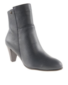 Froggie  Asia Leather Ankle Boot Blue