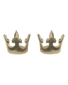 Funky Fish Dog Stud Earrings Multi
