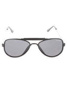Funky Fish All Black Aviator Sunglasses