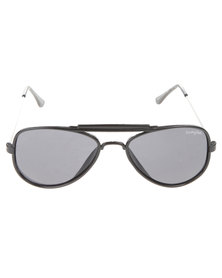 Funky Fish All Black Aviator Sunglasses