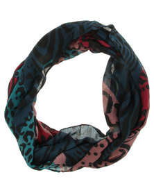 Funky Fish Animal Snood Multi