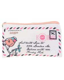 Funky Fish You've Got Mail Pencil Case Multi