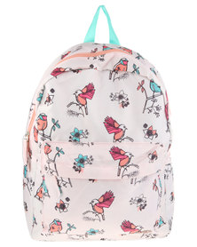 Funky Fish Birdy Backpack Pink