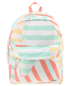 Funky Fish Striped Out Backpack Multi