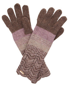 Funky Fish Patterned Gloves Multi