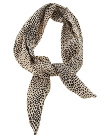Funky Fish Cheetah Print Headband Multi