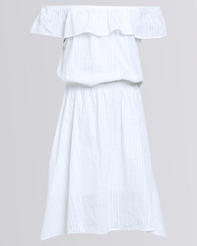 Game Of Threads Summerscape Dress White