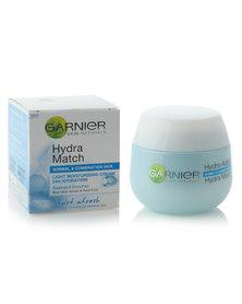Garnier Hydra Match Light Moisturising Cream - Normal to Combination Skin 50ml