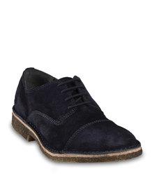 GAS Cambridge Shoes Dark Blue - Warehouse Sale