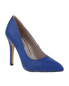 Gino Paoli High Heel Cobalt Blue